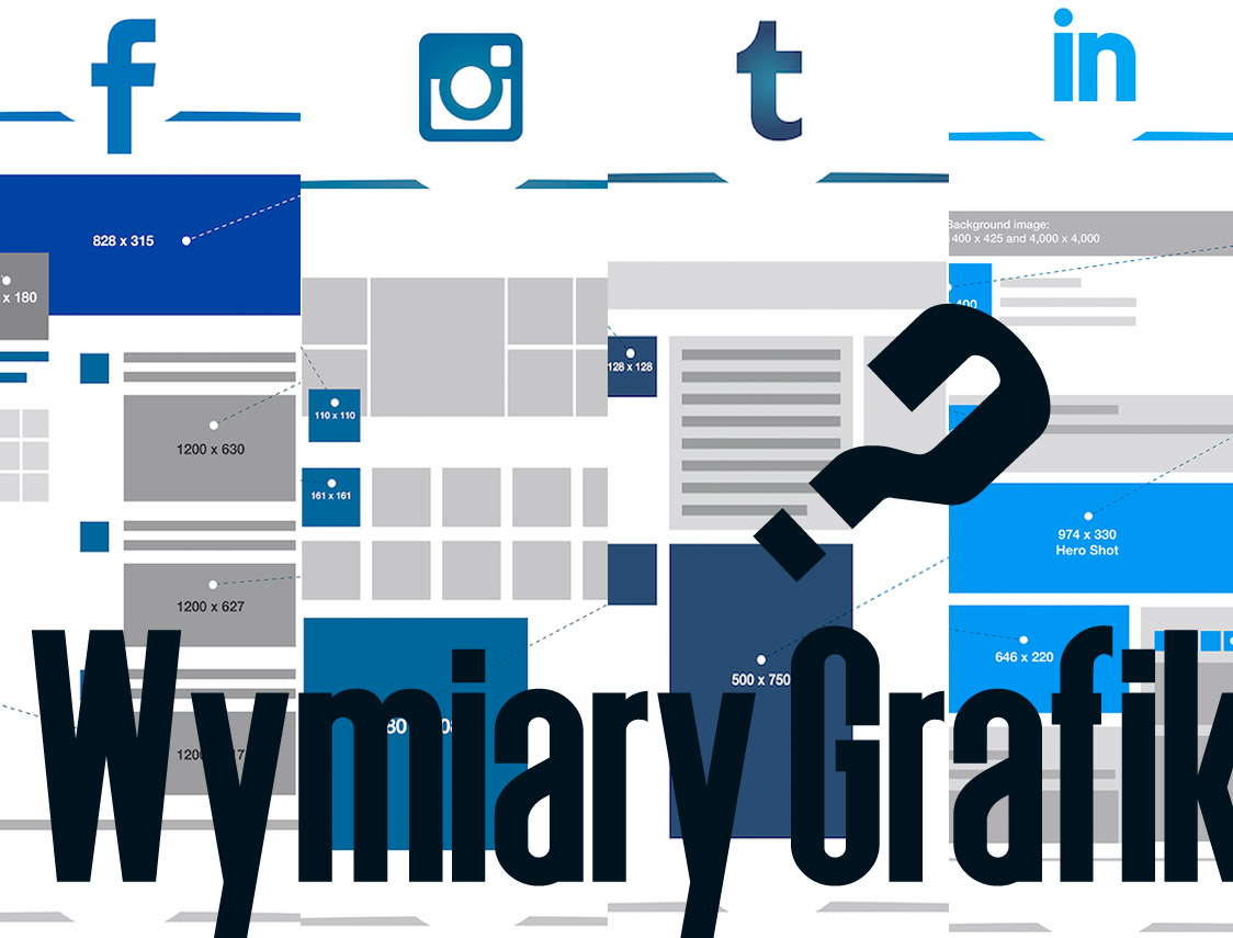 Jakie wielkości mają grafiki w Social Mediach?