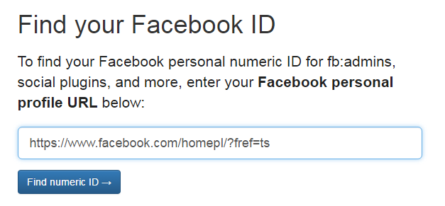 Jak sprawdzić ID mojego Fanpage na Facebook?