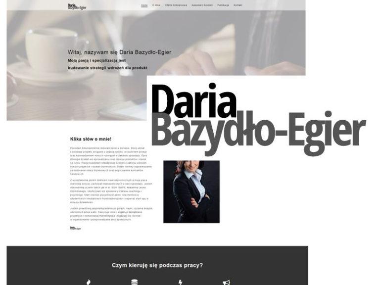 Daria Bazydło-Egier